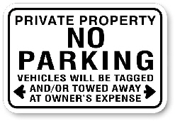 1NP0011 No Parking Sign - Toronto Municipal Code Chapter 915