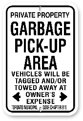 1npga1 garbage pick-up area - toronto municipal code chapter 915