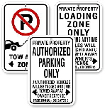 No Parking & Authorized Parking Signs, City of Toronto Muncipal Code Chapter 915